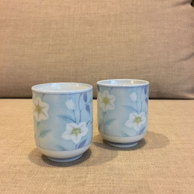 Beautifully Painted Tea Cups