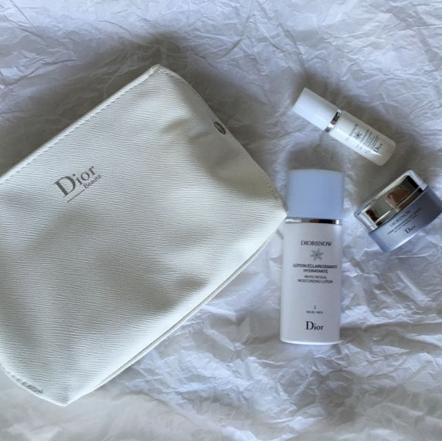 BN Authentic DIORSNOW Set