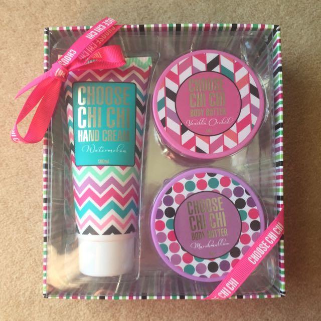 Chi Chi Hand & Body gift set
