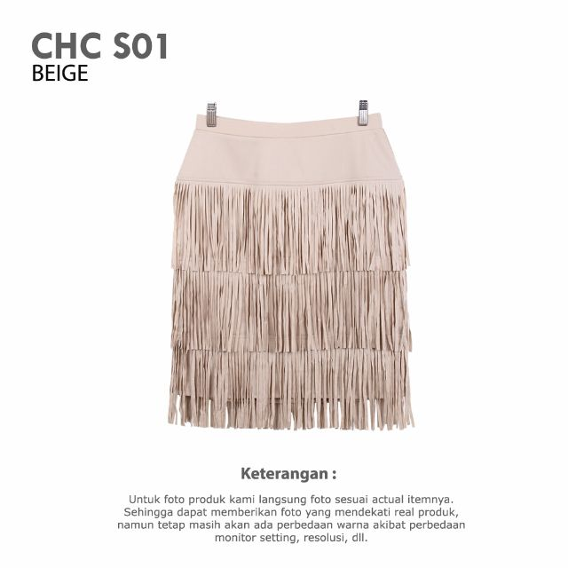 CHICOS - WOMAN CHICOS SKIRT BEIGE