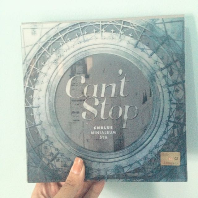 CNBlue 5th Mini Album 'Can't Stop' Version 1