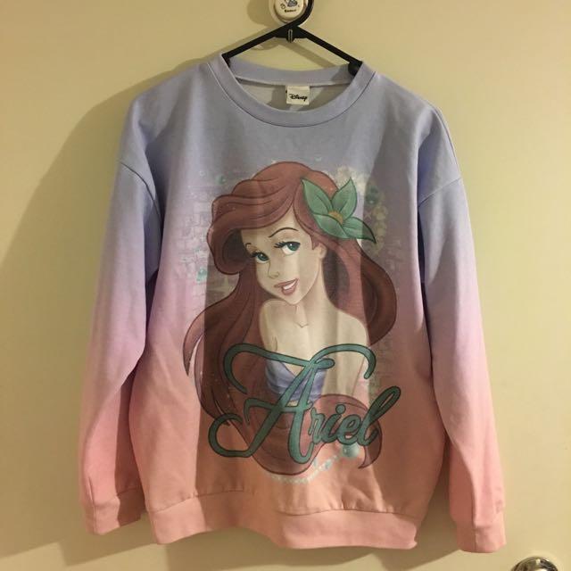 Disney sweatshirt size 8