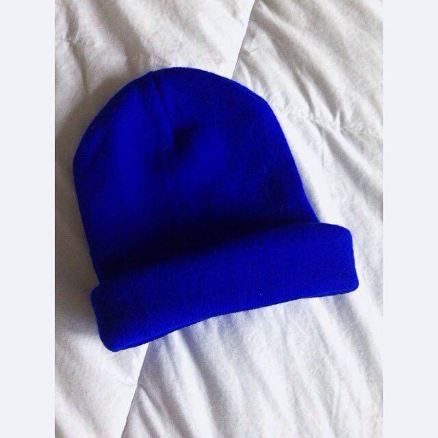 ⚡️ELECTRIC BLUE BEANIE⚡️