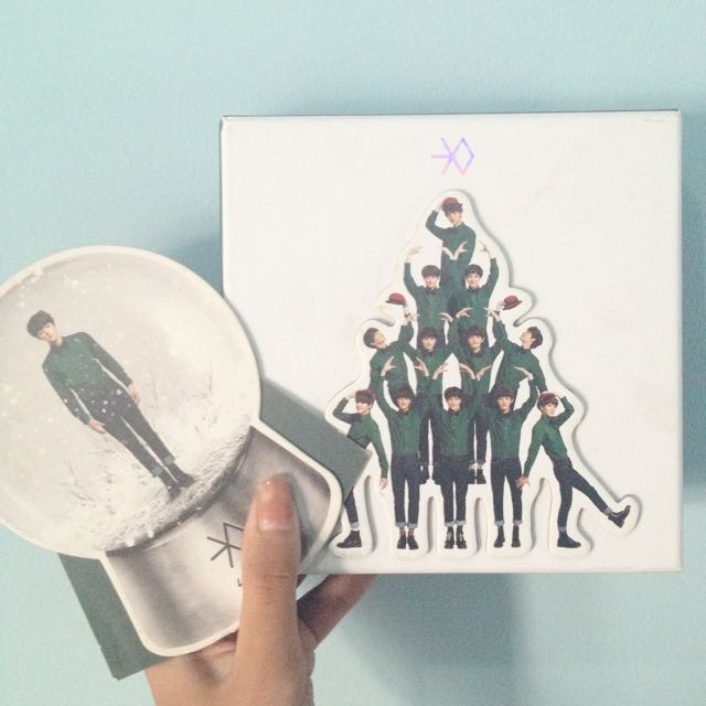 EXO Special Winter Album 'Miracles In December'