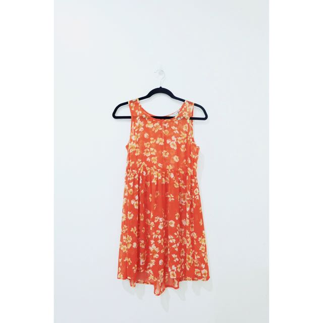 F21 Floral Cover Up Dress