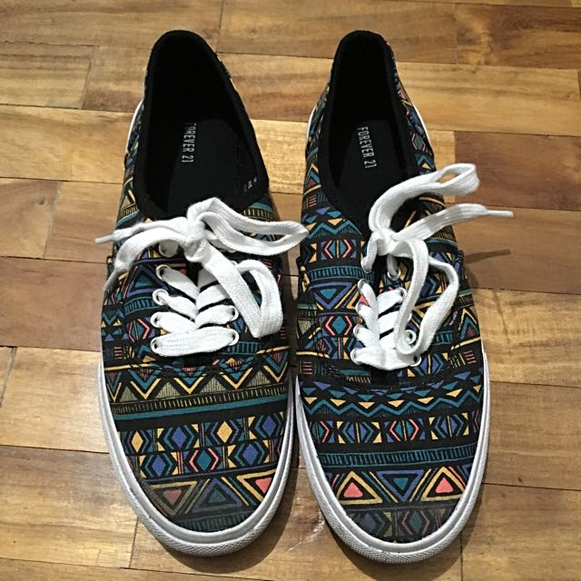 Forever 21 Aztec Sneakers