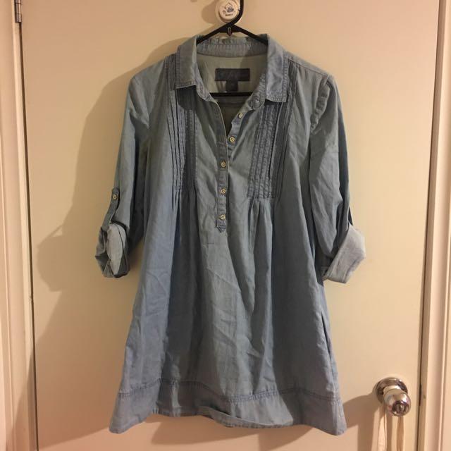 Forever New demin dress size 8