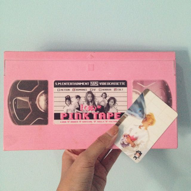 (REPRICE) F(x) 2nd Album 'Pink Tape'