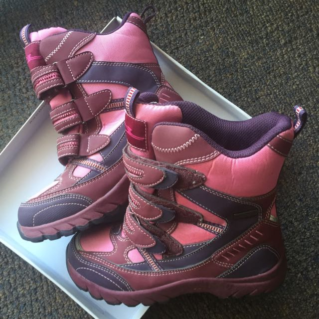 Girls Snow Boots Size 34