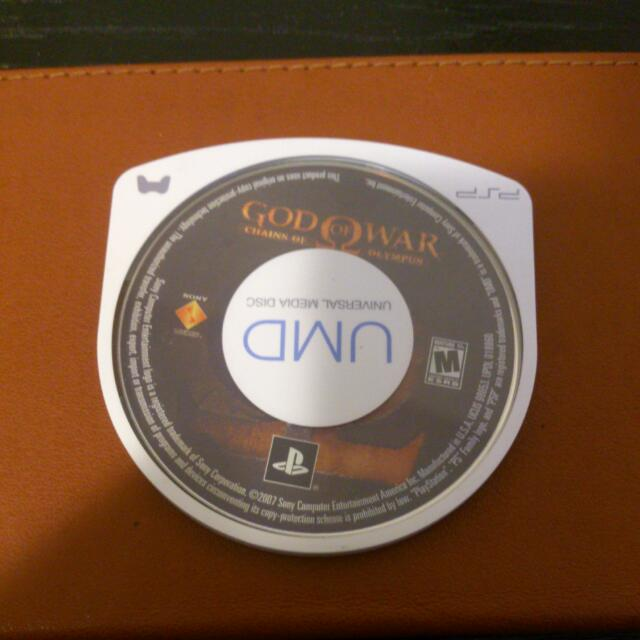 God Of War: Chains Of Olympus PSP Game (UMD)
