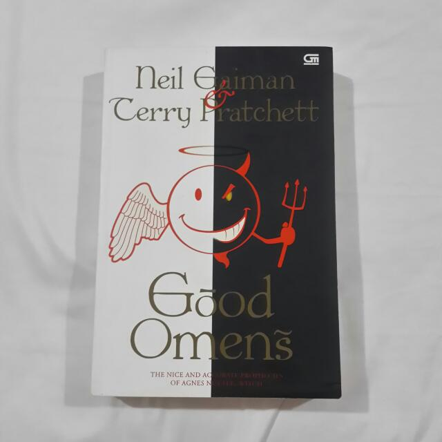 Good Omens by Neil Gaiman & Terry Pratchett