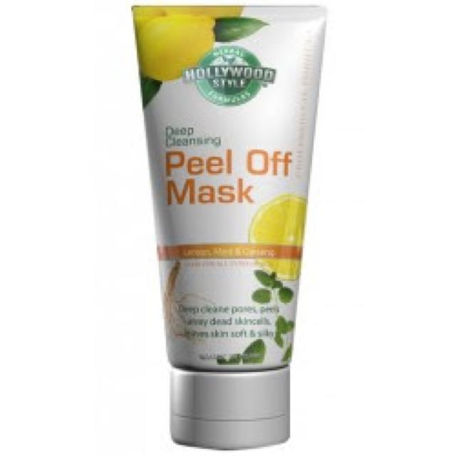 hollywood style peel off mask