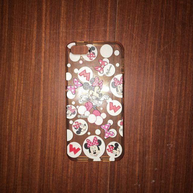 Iphone 5 5s 手機殼 迪士尼 米妮