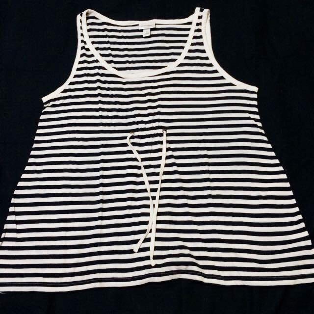 aa6f7a3e17 Isaac Mizrahi for Target Stripes Loose Tanktop, Women's Fashion ...