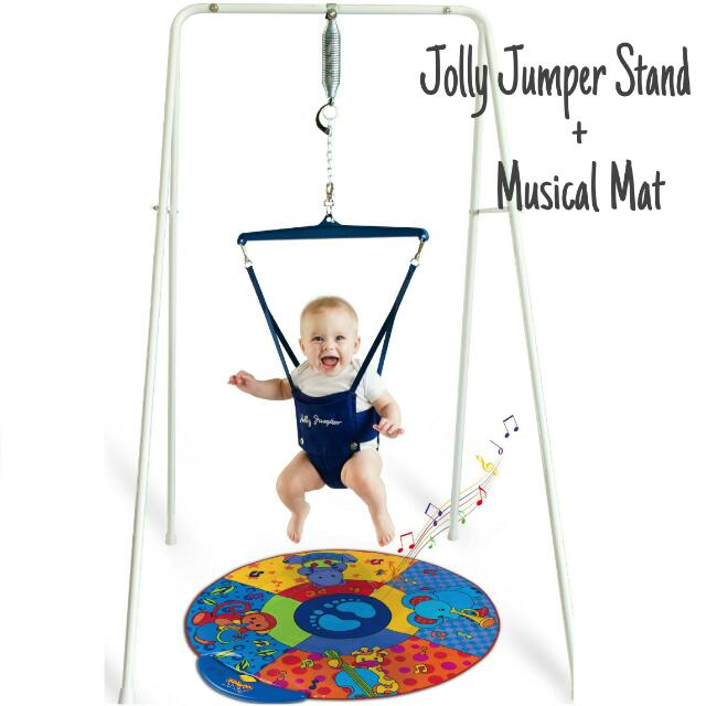 bec7b9488872 Jolly Jumper With Portable Stand