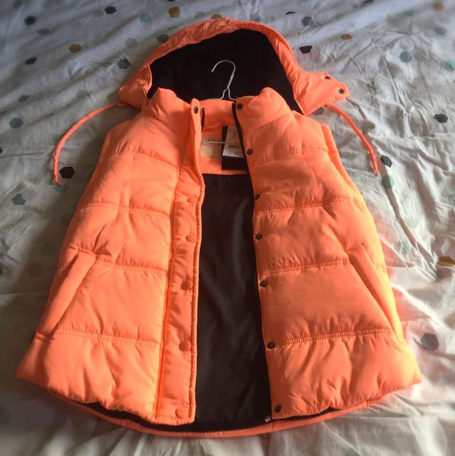 Ladies Cotton Active Puffer Best - Large