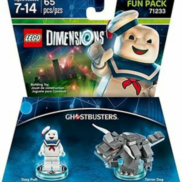 Lego Ghostbuster Hq Marshmallow Man Dimension Toys Games