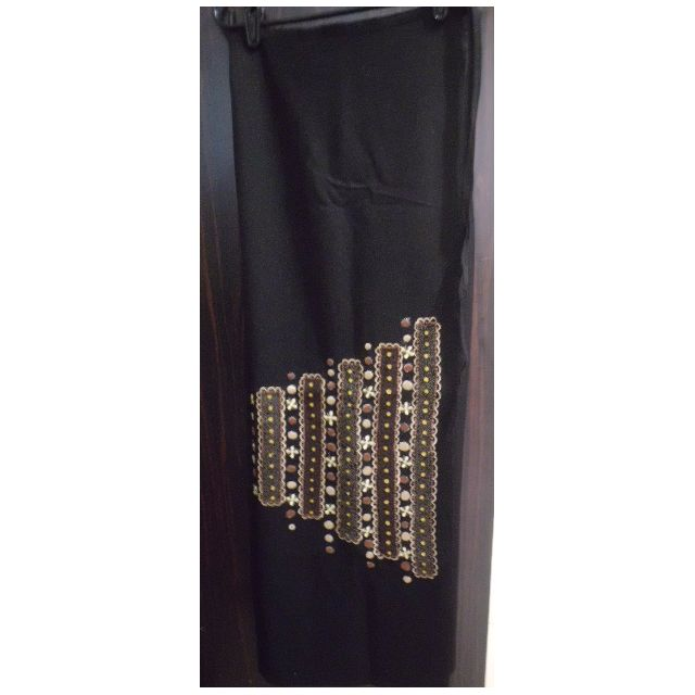 Long Skirt - Black - Party