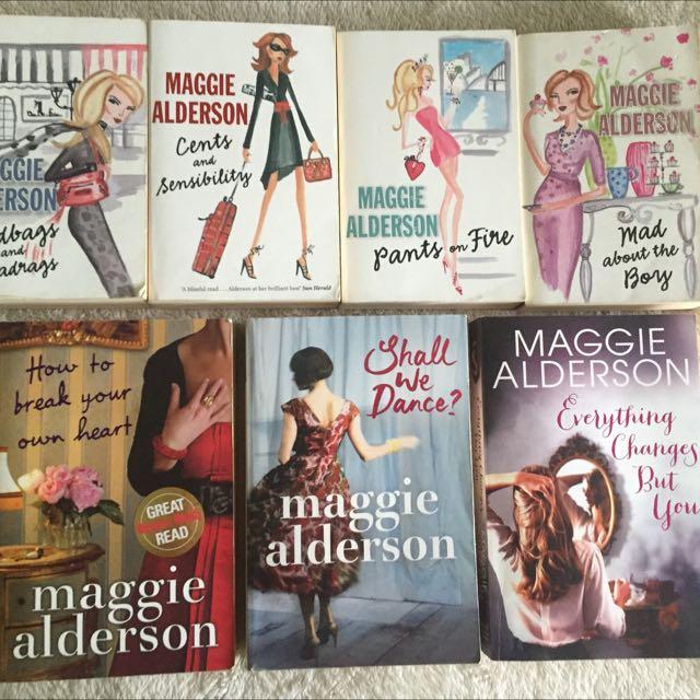 Maggie Alderson Books