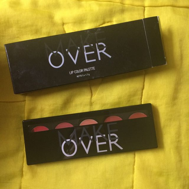 Make over Lip Color Palette