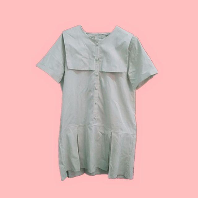 my dress/正韓 學院風 洋裝 夏日 小清新