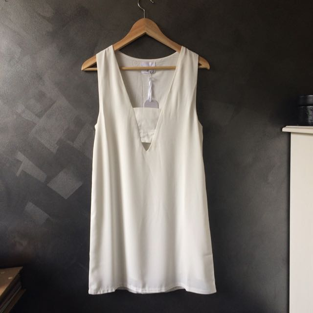 Ottomode White Dress