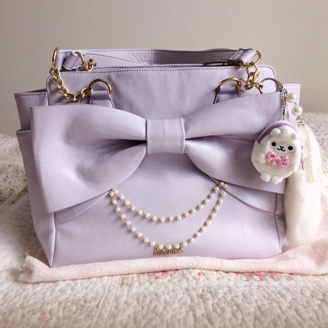Pastel purple Katehill Hand Bag Lolita