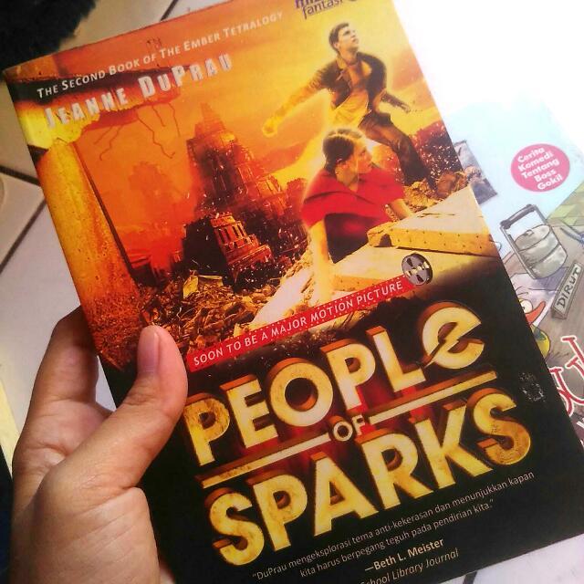 People of Sparks by Jeanne Duprau