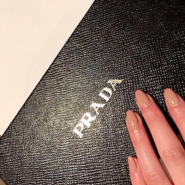 Prada Wallet- Saffiano Multic