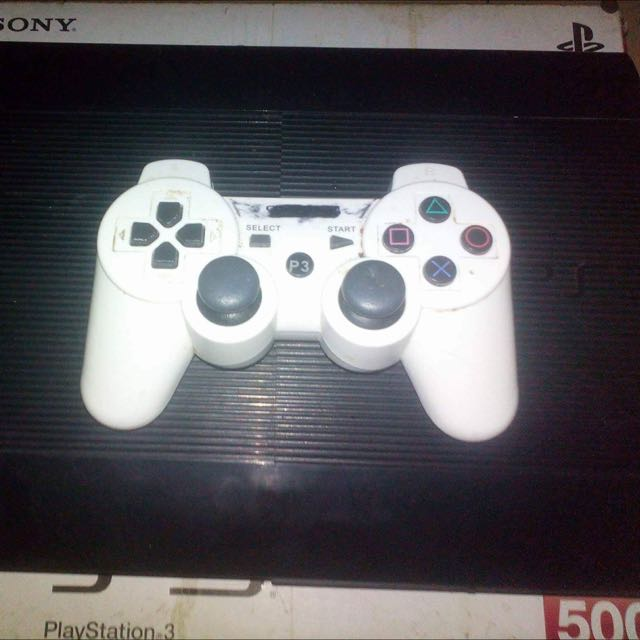 PS3 Complete Set 500gb