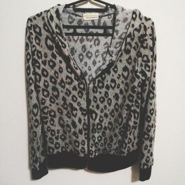 Queen Shop 豹紋外套