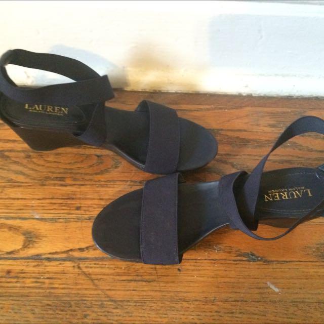 Ralph Lauren Sandals/wedges Size 10