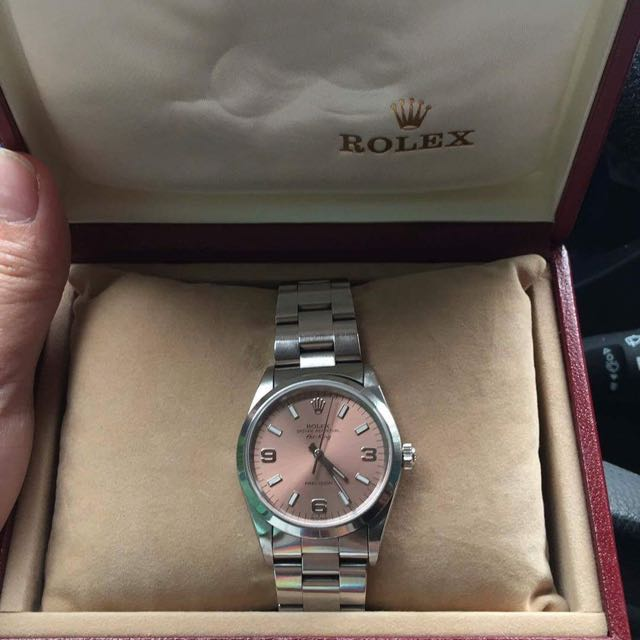 Rolex Salmon Face Airking 34mm