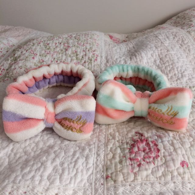 Sweet Pastel Bow Stretchy Headbands Shower