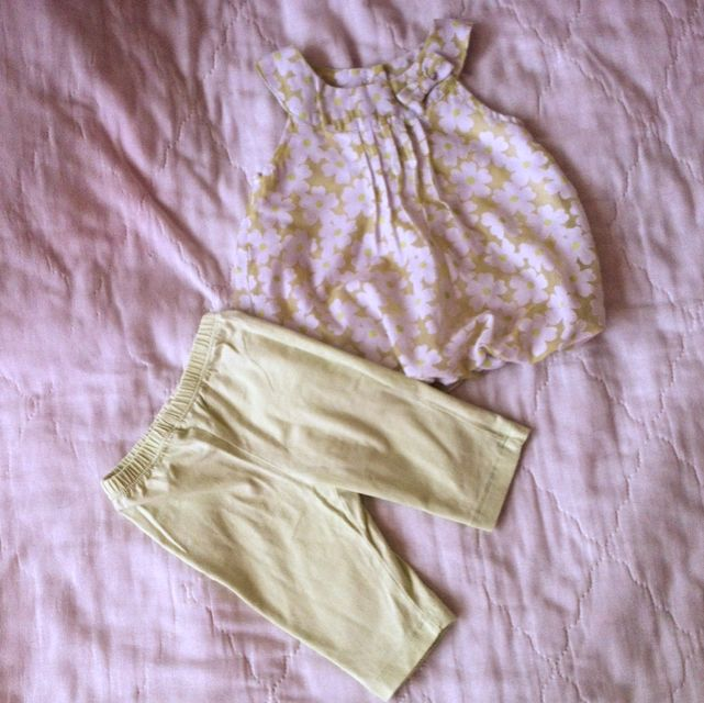 Tiny Tummies Terno Set