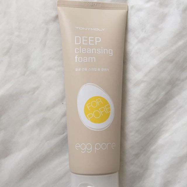 tony moly deep cleansing foam for pore