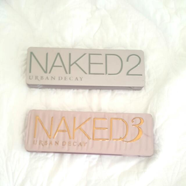 Urban Decay 'NAKED2 & NAKED3' PALETTES!!