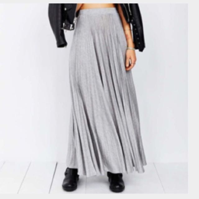 Urban Outfitters BNWOT Kimchi Blue Maxi skirt Size Small Sold Out