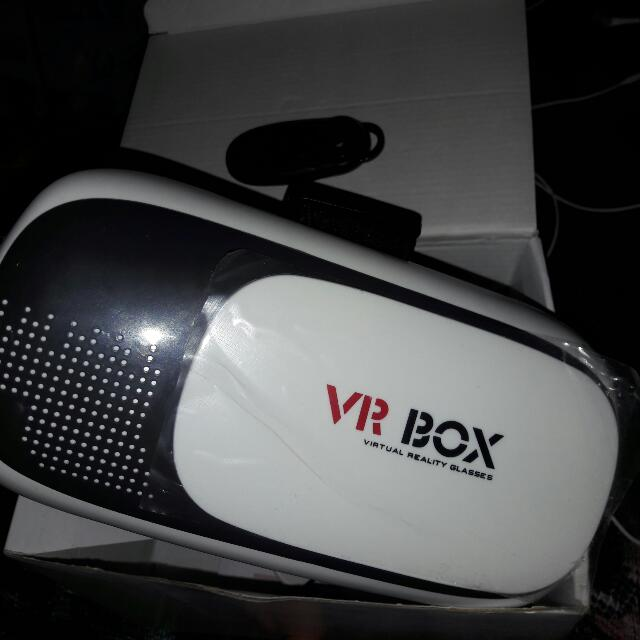 VR Box Glasses + Remote Bluetooth