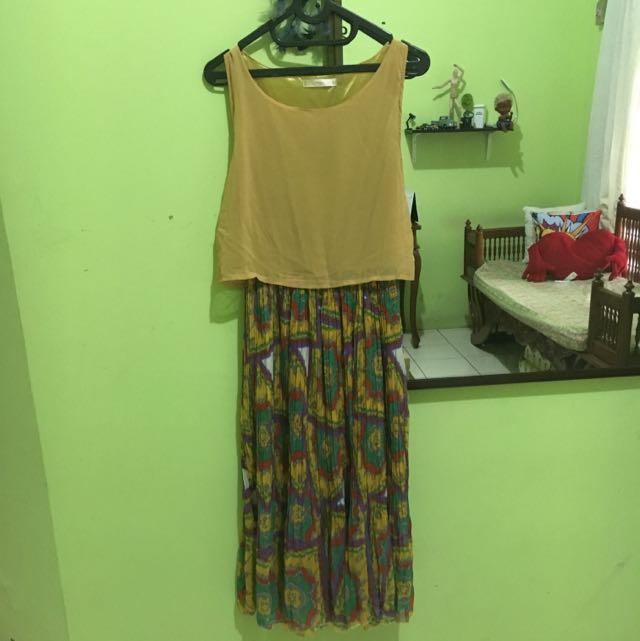 yellow dress prisket