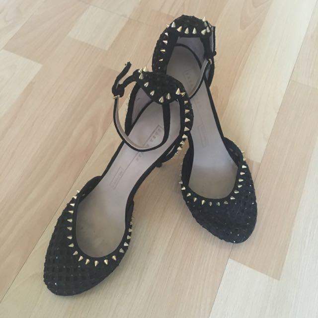 Zara Woman Studded Heels