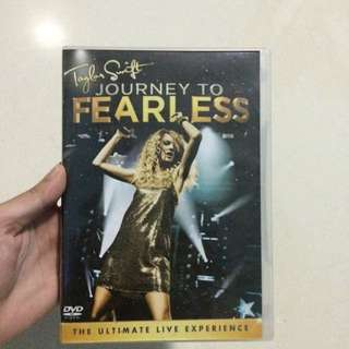 Taylor Swift Journey To Fearless DVD Indonesian Edition