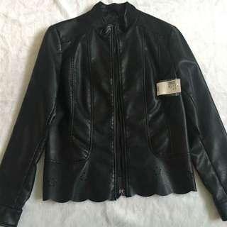 Women's Faux Leather Jacket BNWT
