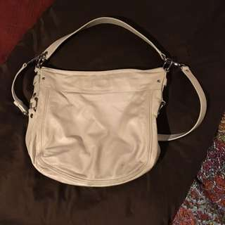 COACH Cream Leather Purse