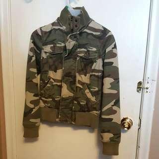 TNA Camouflage   Fall Jacket