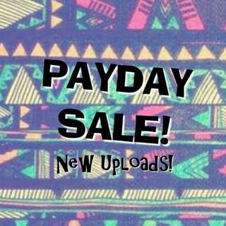 PAYDAY SALE! 🎆🎆🎆