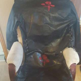 Buffalo Leather Jacket And Vest