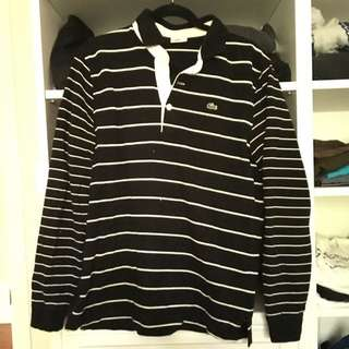 Lacoste Black And White Shirt