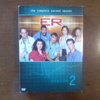 E.R. Season 2 DVD Collection
