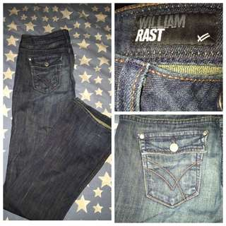 Size 26 William Rast Jeans